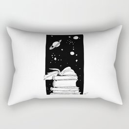 Enter a New Dimension Rectangular Pillow