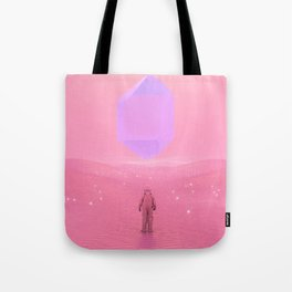 Lost Astronaut Series #03 - Floating Crystal Tote Bag