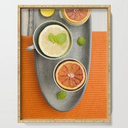 Citrus fruit Serving Tray