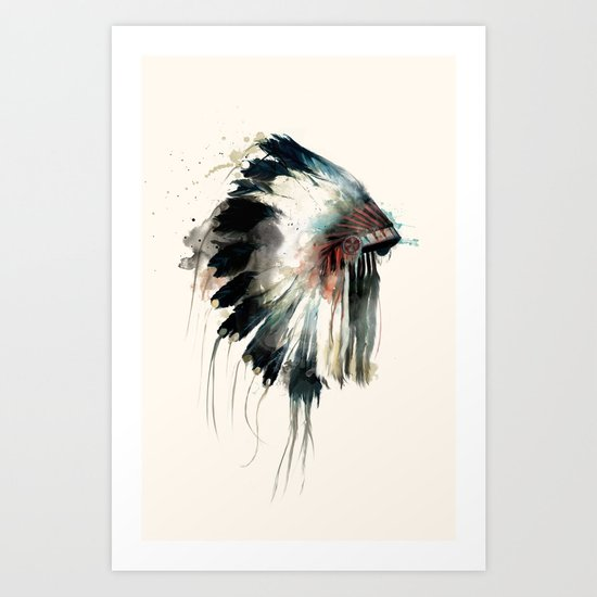 Headdress Art Print