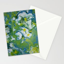 Swirls and Swirls Stationery Cards