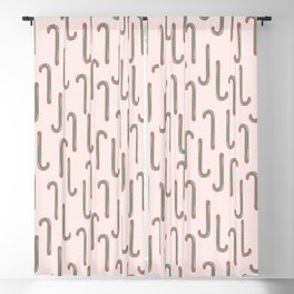 Candy Canes Blackout Curtain