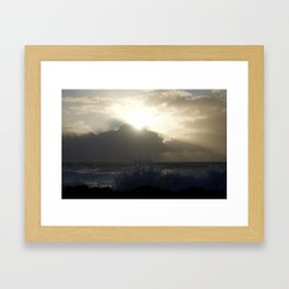 Sea Spray Framed Art Print