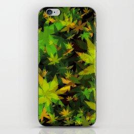 Candys Crazy Cannabis Camo iPhone Skin