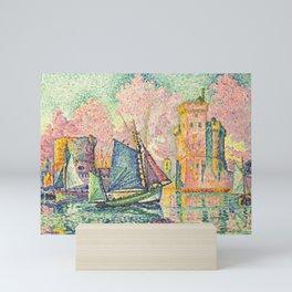 """Paul Signac """"Le Thonier Entrant à La Rochelle"""" Mini Art Print"""