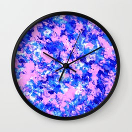 Crash Palette Wall Clock