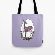 Fawn and Thistle Tote Bag
