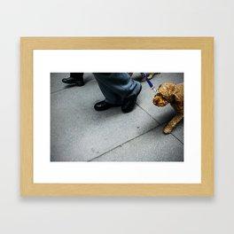 manhattan vibes (1) Framed Art Print
