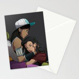 Korrasami: Stay the Night Stationery Cards