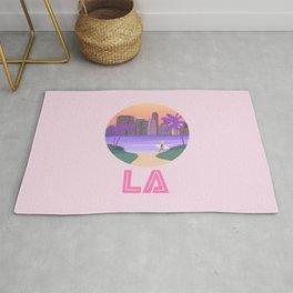 Los Angeles City Art Rug