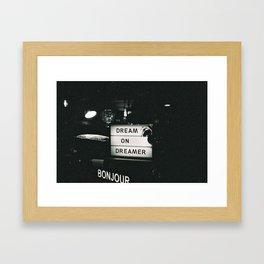 kk Framed Art Print