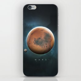 A Portrait of the Solar System: Mars iPhone Skin