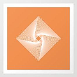 Square Pyramid Art Print