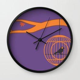 tweet at night Wall Clock