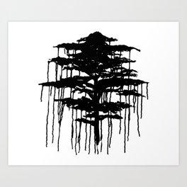 Retinal Burn #2 Art Print