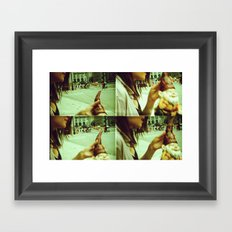 Lomography Gnome Framed Art Print