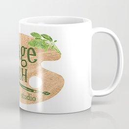 Sage Brush Art Studio Logo - White Coffee Mug