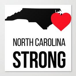 North Carolina strong / Hurricane season Canvas Print