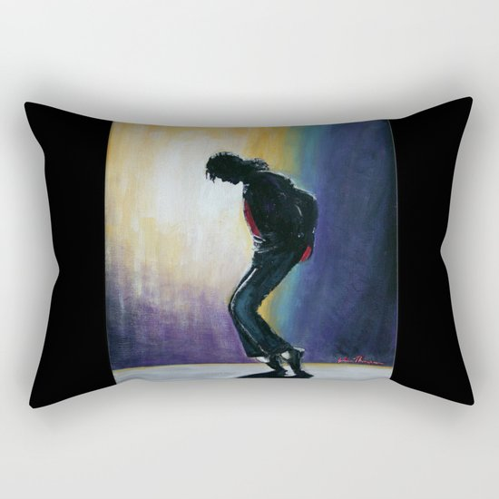 MJ move   Rectangular Pillow