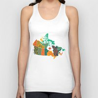 canada Tank Tops featuring Canada by Mohit Gupta
