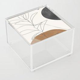 Abstract Art /Minimal Plant Acrylic Box