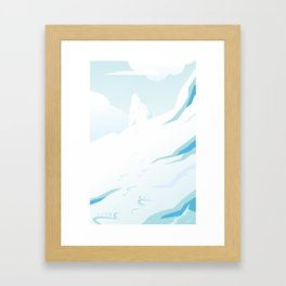 Yeti Framed Art Print