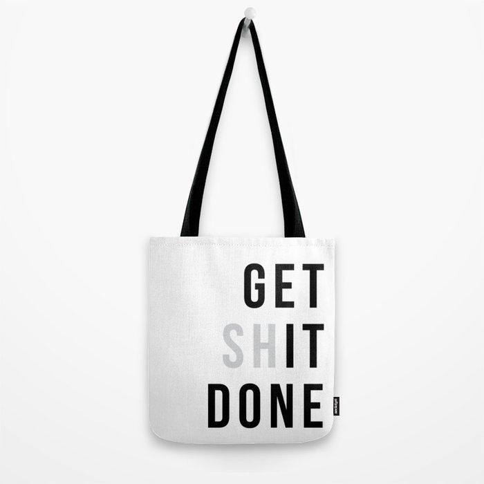 Get Sh(it) Done // Get Shit Done Umhängetasche