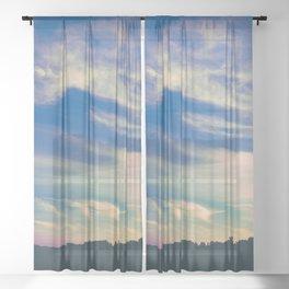 Cross My Mind Sheer Curtain
