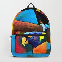 Rainbow Lorikeet 6 Backpack