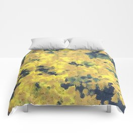 Flowerimg tree Comforters