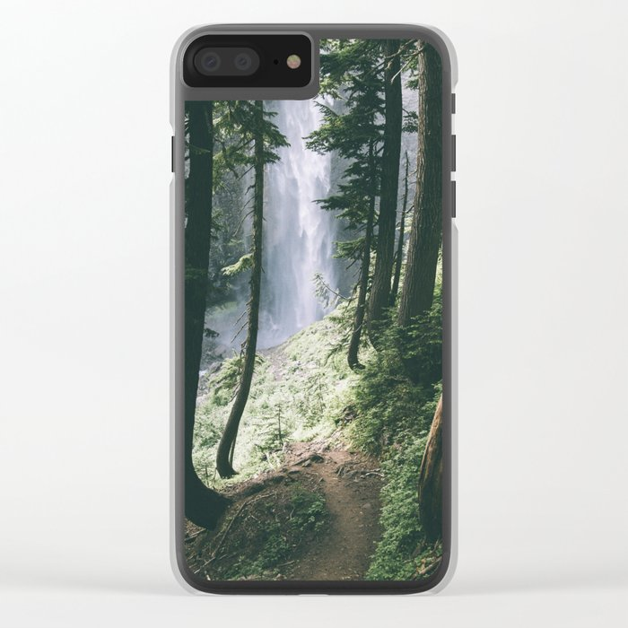 To The Falls Clear iPhone Case