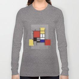 Piet Mondrian Long Sleeve T-shirt