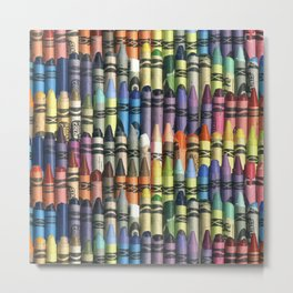neverending box of crayons Metal Print