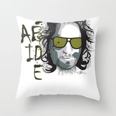 The Dude - Big Lebowski INK Throw Pillow