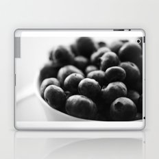 black and white blueberry Laptop & iPad Skin