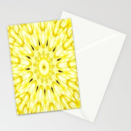 the sun : Yellow Mandela Explosion Stationery Cards