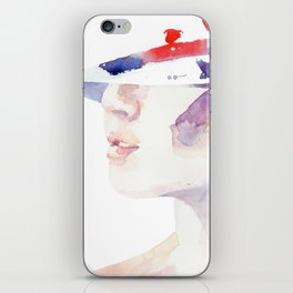 And for her it's still summer iPhone Skin