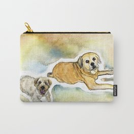 Poncho and Jack Carry-All Pouch