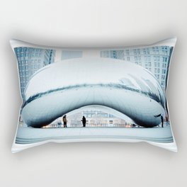 Lonely Chicago Icon Rectangular Pillow