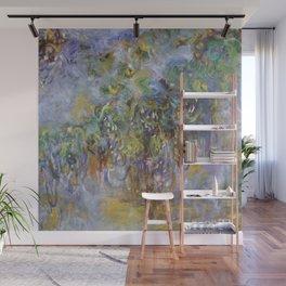 "Claude Monet ""Wisteria"", 1919-1920 Wall Mural"