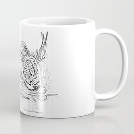 American Oystercatcher nest Coffee Mug