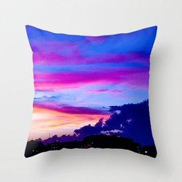 Hampton Sunset Throw Pillow