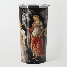 Primavera by Sandro Botticelli Travel Mug