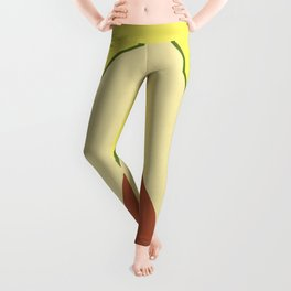 Avocado watercolor I Leggings