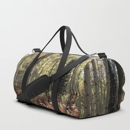 The Red Fern Grows In The Aspen Groves By Olena Art Duffle Bag