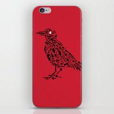 Murderous Crows iPhone & iPod Skin