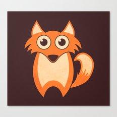 Lil' Fox Canvas Print
