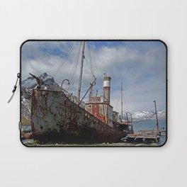 Whaling Ship Laptop Sleeve