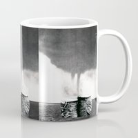 california Mugs featuring California by Erin Case