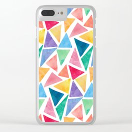 The art of many pieces Clear iPhone Case